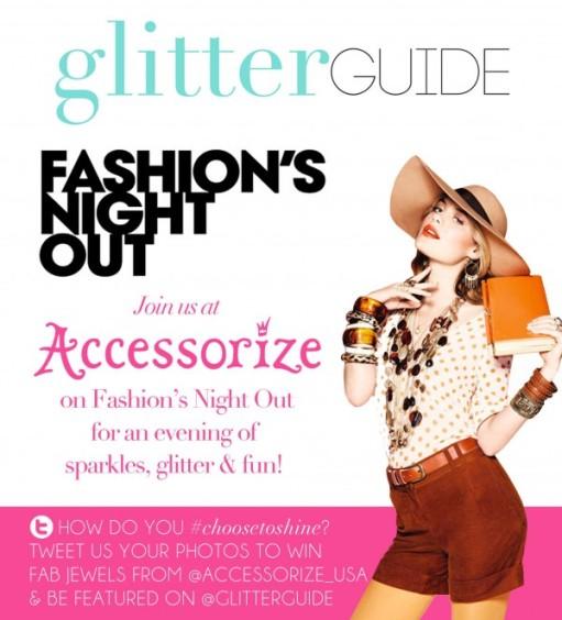 Accessorize Glitter Guide FNO