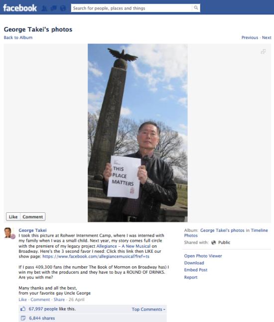 George Takei FB 5.2
