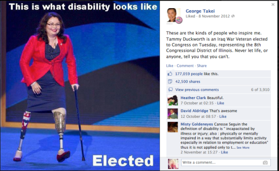 George Takei FB 8