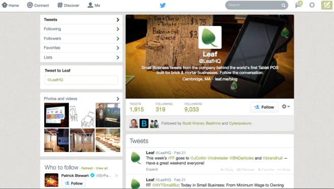 Leaf Twitter